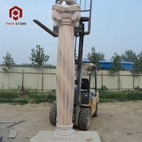 Beautiful decorative for house and hotel round roman pillar and pedestal