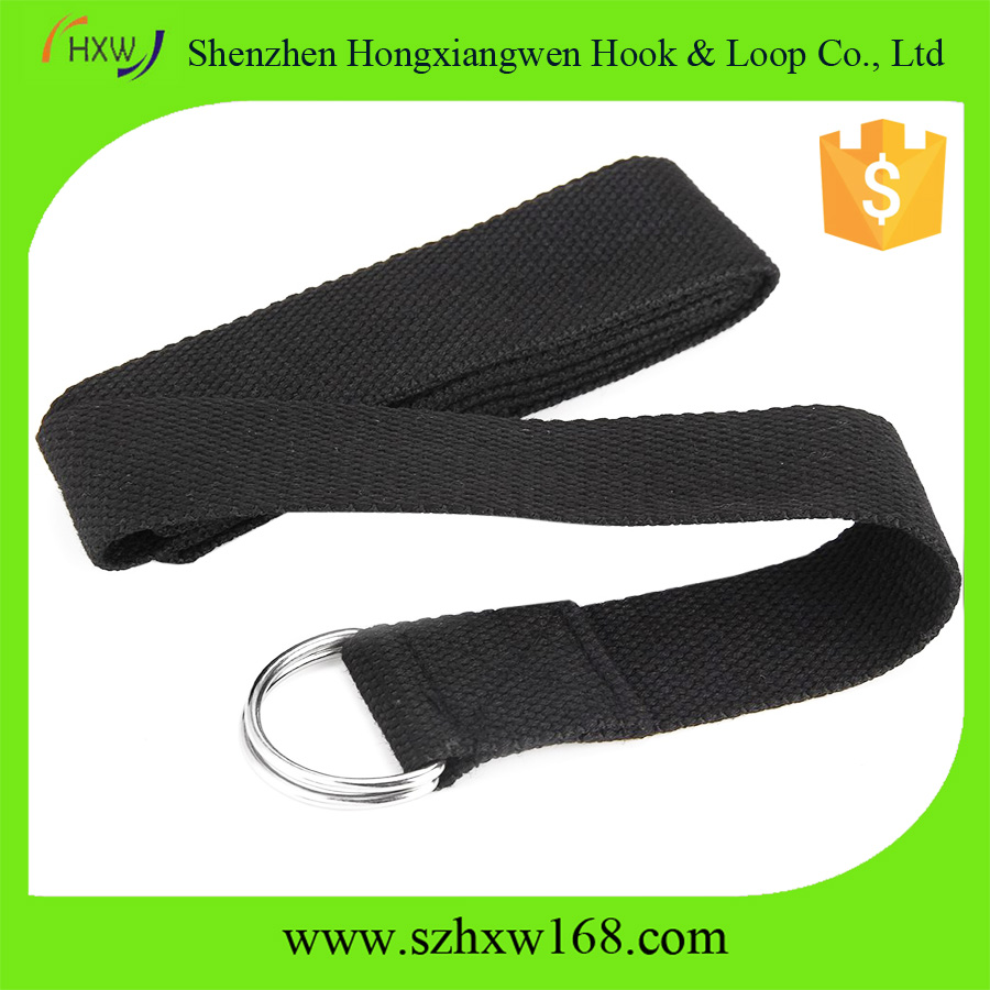 Cotton Yoga Stretch Strap Training Belt Waist Leg