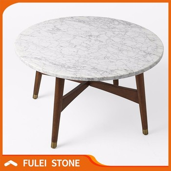 Lovely Hot Sale Round Marble Slab Table Top