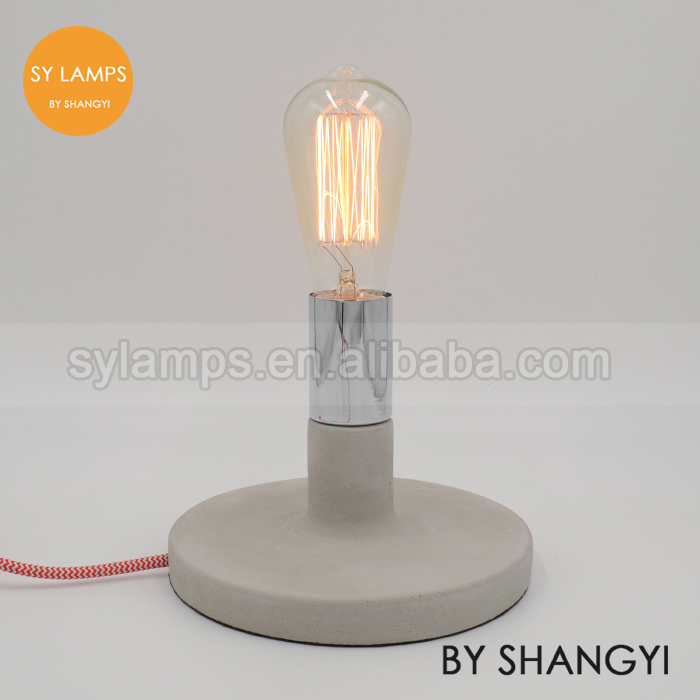 New Design Concrete Table Lamp Concrete Desk Lamp For Dimming ...
