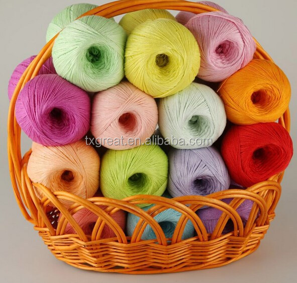 100% Combed Gassed Mercerized Cotton Yarn