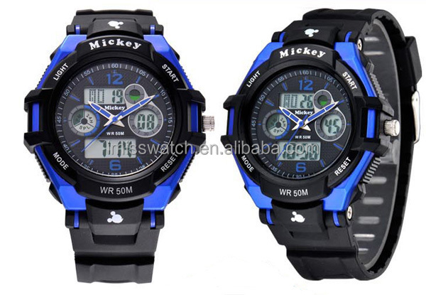 Hot sale Russia Army military Men LED Digital Date Alarm 5ATM Sports Watch DC-55027