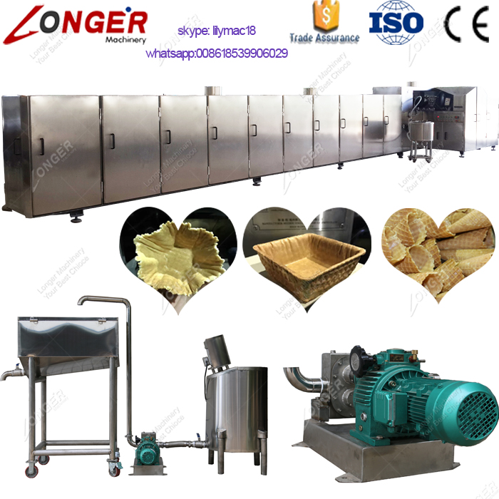 Ice Cream Cone Machine Automatic Wafer Ice Cream Cone Maker