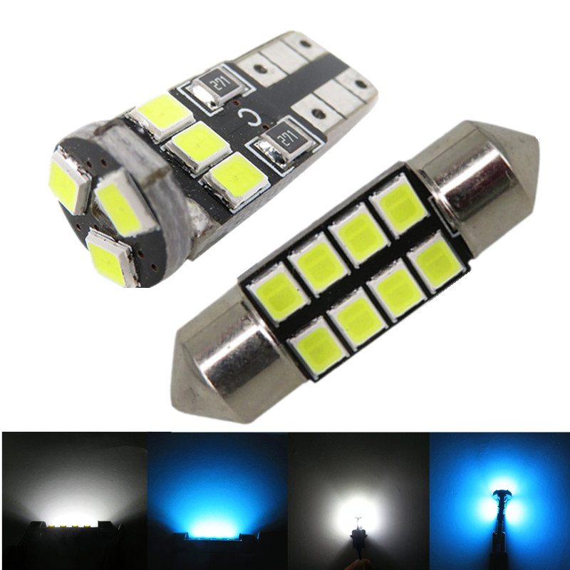 6x 2835SMD Led Interior Light Package For Toyota Corolla