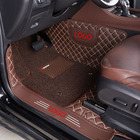 CUSTOM 5D LEATHER CAR FLOOR MATS FIT FOR BENZ
