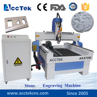 Made in China aluminum profile stone cnc router price/cnc carving marble granite stone milling machine
