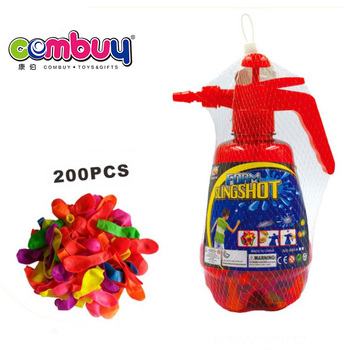 Wholesale children play plastic inflatable filler water balloon slingshot