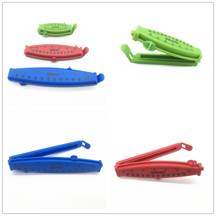 3 ST Coloful Voedsel Plastic Bag Afdichting Clip