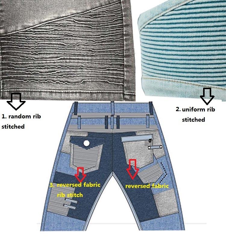 7216902767 La máquina para hacer que la costilla cosida al azar no es la misma que la  que hace que la costilla uniforme esté cosida. Tiene una forma más  aleatoria