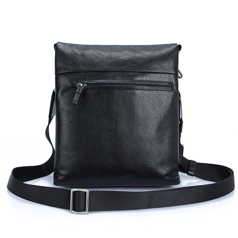 Messenger bag men genuine leather messenger bag fashion bags  LEFEL business bag, Head layer cowhide elegant handbags