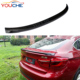 X6 F16 P style carbon fiber rear boot trunk lip spoiler P style for BMW X6 2014-2018