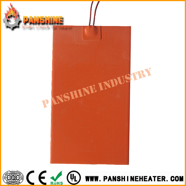 Customized silicone rubber heater element heating film