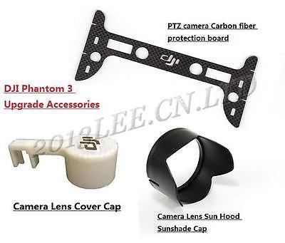 Camera Lens Cover Cap Sun Hood CF Gimbal Guard For DJI Phantom 3 PTZ Camera