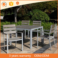 2017 cheap home casual enterprises royal garden outdoor plastic wood chair patio furniture coffee table