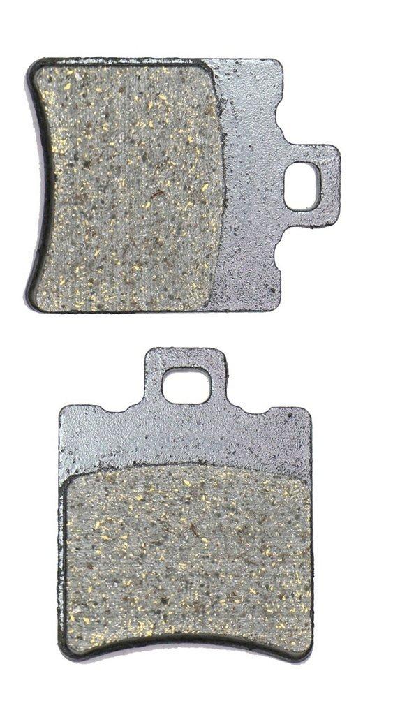 CNBK Front Brake Pad Semi Metallic for MALAGUTI Street Bike F12 F-12 50 Phantom 99 00 01 02 1999 2000 2001 2002 1 Pair(2 Pads)