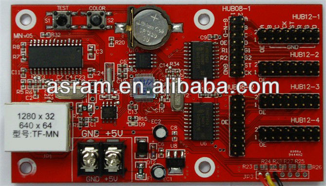 TF-MN P10 display control card voice control card GPRS factory outlets led control card factory