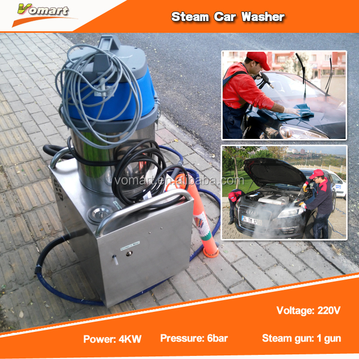Protable automatic steam car wash /steam used washing machine