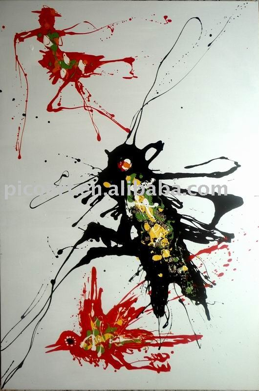 graffiti original handmade animal oil painting