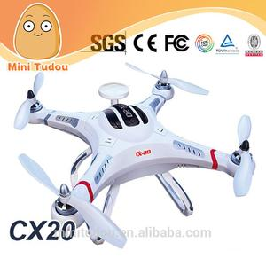 High quality professional rc quadcopter cheerson CX-20 4CH with GPS hold system auto-return home