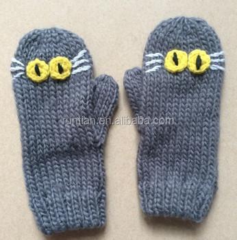 Hot Popular Soft Acrylic Knitting Kids Imitate Animal Cartoon