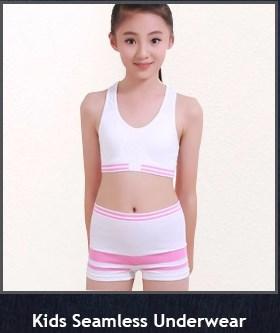 6cce46930c8 Oem Little Kids Girl Underwear Crop Top Panty Set - Buy Kids ...