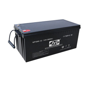 12V200AH batteries for solar energy