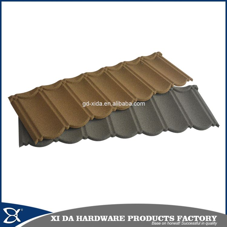 For all kind of building roofs modern classical stone coated metal roof tile