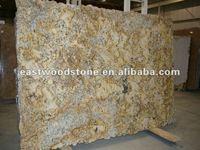 golden persa granite slab