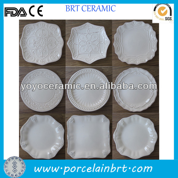 White Ceramic Plates Bulk White Ceramic Plates Bulk Suppliers and Manufacturers at Alibaba.com & White Ceramic Plates Bulk White Ceramic Plates Bulk Suppliers and ...