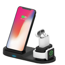 Untuk <span class=keywords><strong>iPhone</strong></span> <span class=keywords><strong>Apple</strong></span> 10W Stand Telepon Portabel Cepat Qi 3 In 1 Wireless <span class=keywords><strong>Charger</strong></span> Pad