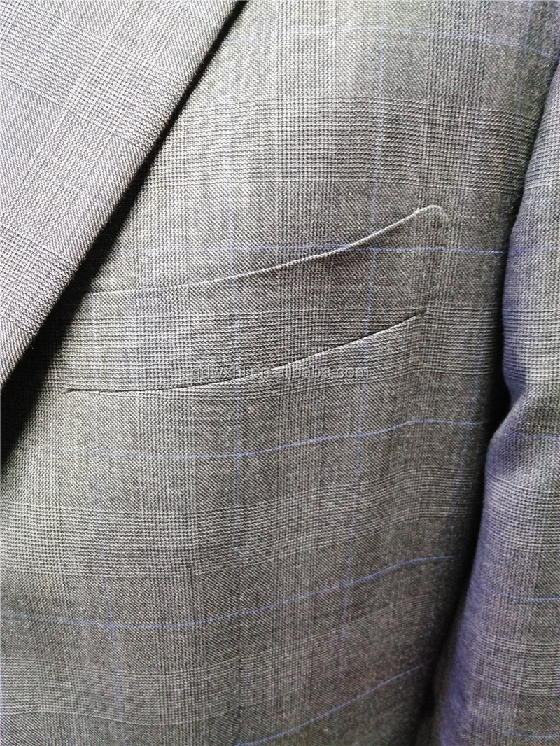 100% Wool Tailored Latest Italian Suits For Men