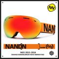 Shipping free brand snow snowboard goggles adultbrand ski goggles double UV400 anti fog big ski mask