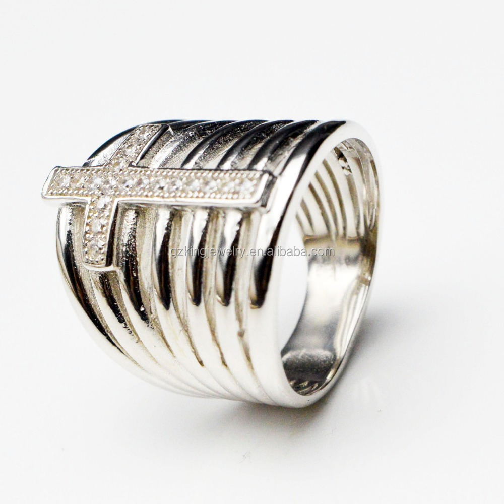 New design fashion sterling silver 925 rings jewelry women