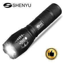 HOT SALE 5 modes tactical rechargeable led torch flashlight