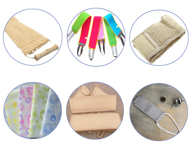 10pcs Package Beauty Skin Cloth for Shower nylon sauna bath cloth towel