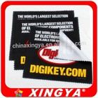 Microfiber cleaning cloth for glass microfiber lens cleaning cloth