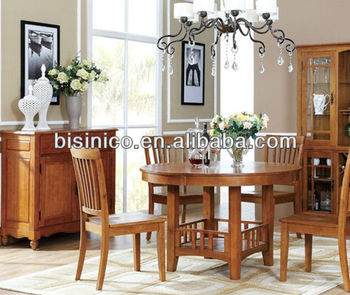 Bisini Dining Furniture, British Country Style Dining Room Furniture Set Table  And Chairs