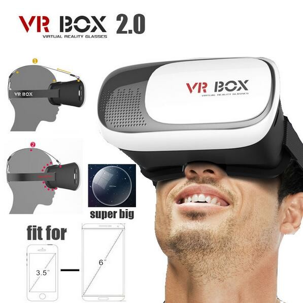 Factory Wholesale Vr Box 2.0 Version 2 vr headset+ Smart Bluetooth Wireless Mouse