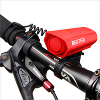 Popular Design Bike Horn with LED Light 110db Cycling Bell