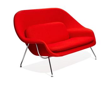 Modern Fibergl Womb Sofa Loveseat