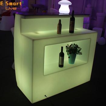 Led Bar Counter Home Bar Furniture Party Juice Bar Counterbar