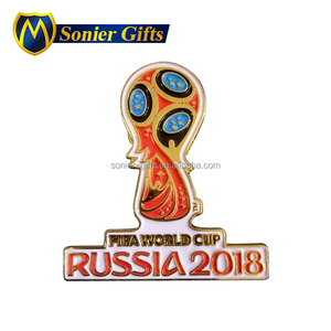 2018 world cup gifts custom lapel pins and badges china
