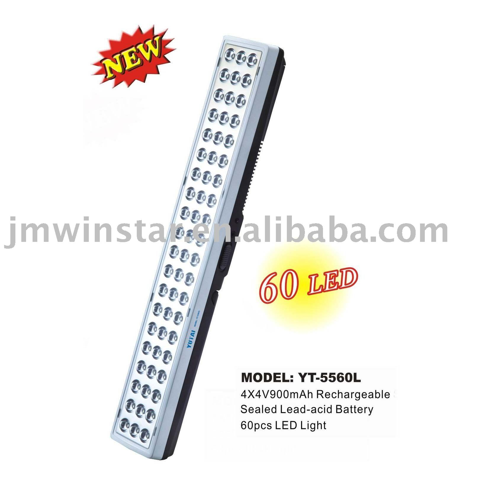 Yt-5560l Rechargeable Lamp: 60 Led Light & Wall-mounted Emergency ...