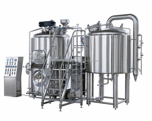 high quality 20bbl brew house for micro brewery/high quality 5000l stainless steel tank/mini brewery beer brewing plant cost
