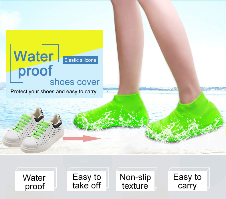 Wholesale Custom Outdoor Waterproof Plastic Silicone Protective Sock Sterile Shoe Covers