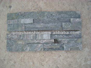 Pareti Interne In Mattoni : Quarzite grigio argento z mattoni pareti interne in mattoni