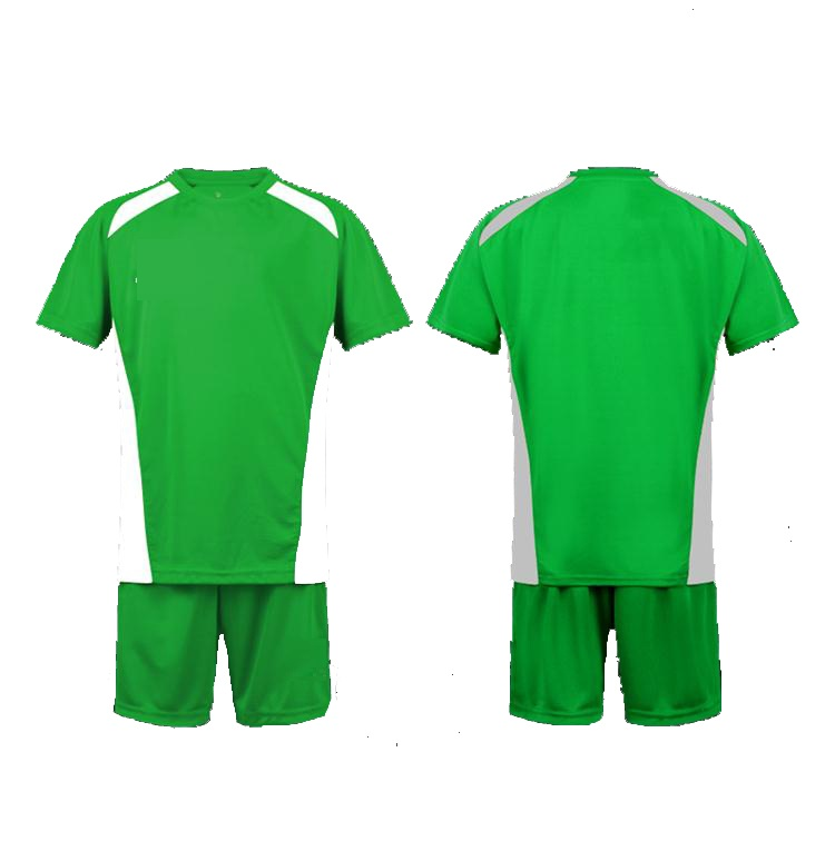 2016/2017 new season custom wholesale green soccer jersey