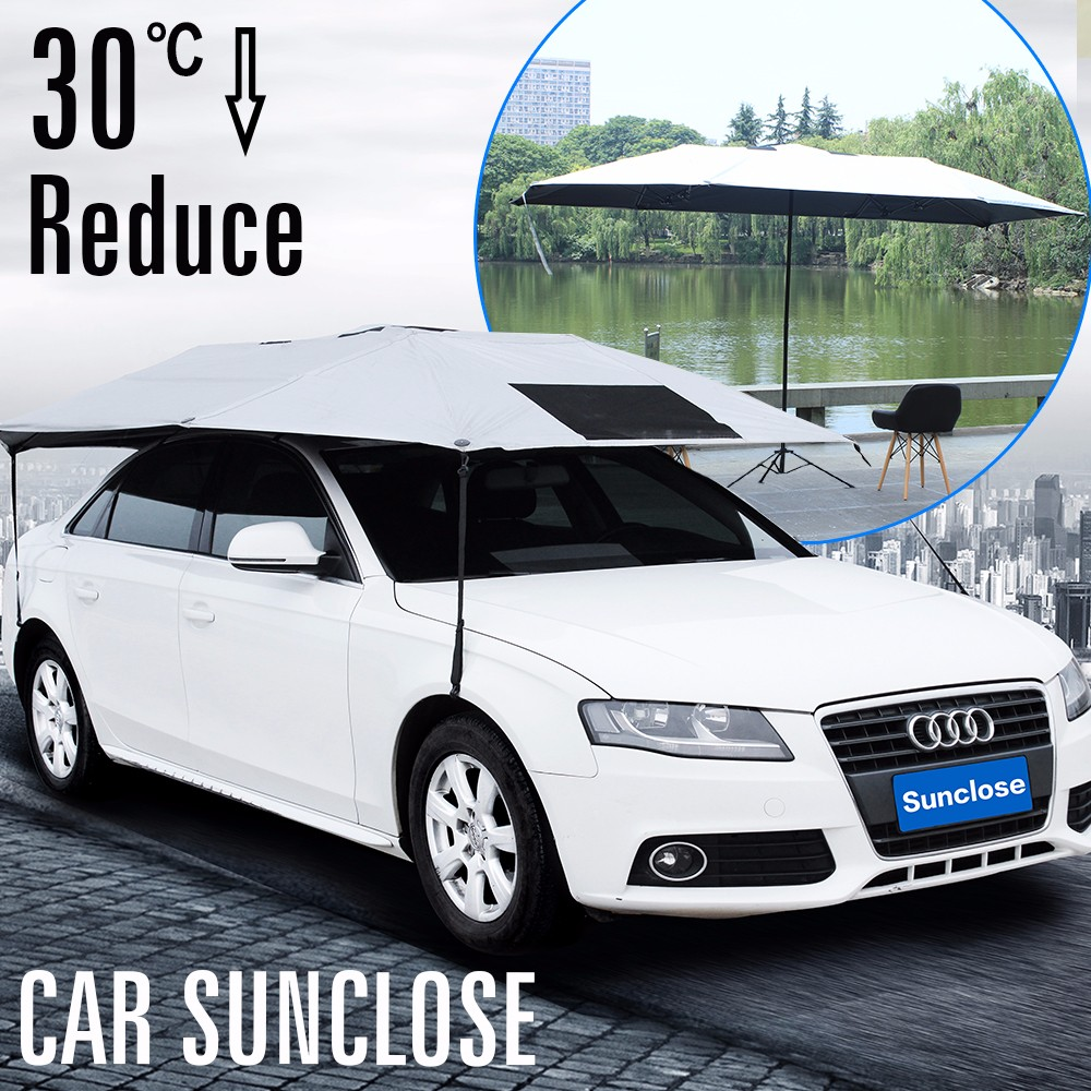 SUNCLOSE new innovative product car window <strong>sun</strong> shade visor shield cover car parking shade