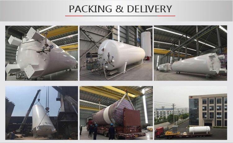 50m3 LNG Cryogenic Storage Tank with ASME/GB Standard
