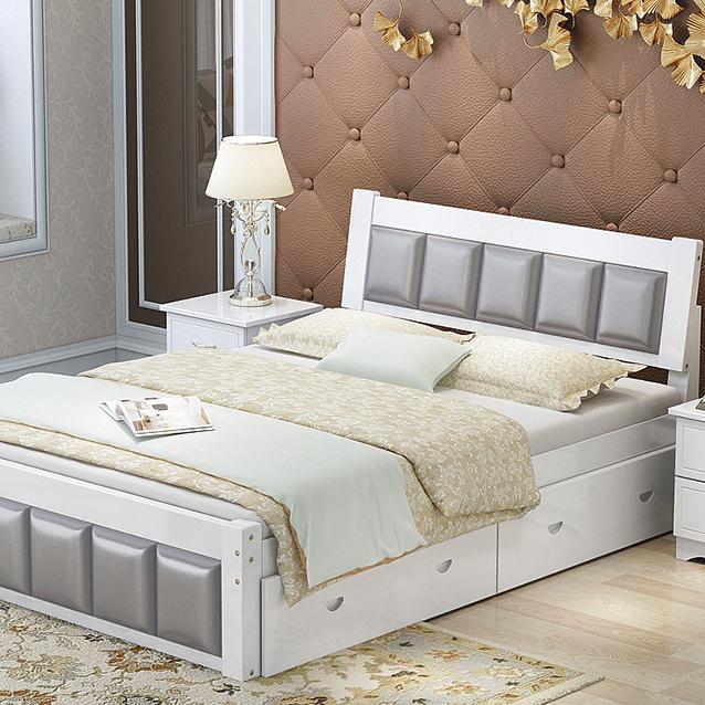 Venta al por mayor juego de dormitorios de pino-Compre online los ...